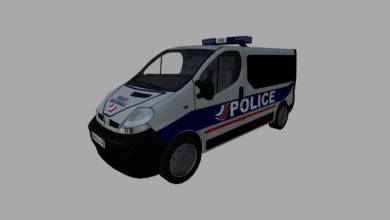 Photo of Renault trafic police